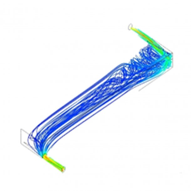 Image: High Resolution Computational Flow Modelling of Blood Oxygenators