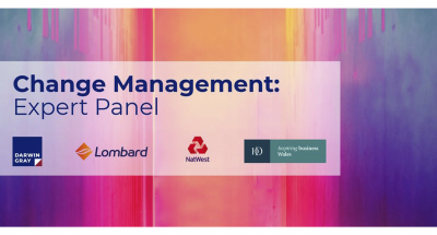 Image: Darwin Gray: Change Management - Expert Panel